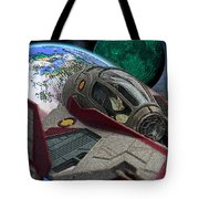 10108 Obi-wan's Starfighter Tote Bag