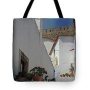 Obidos Portugal Walkway Tote Bag
