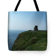 O'brien's Tower At The Cliffs Of Moher Ireland Tote Bag