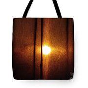 Obscured Sunset Tote Bag