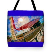 Observation Tower Circuit Of The Americas Tote Bag