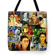 Obsessed With Frida Kahlo Tote Bag