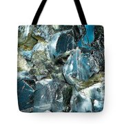 Obsidian In Newberry National Volcanic Monument, Oregon  Tote Bag