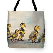 Obstacle Course Tote Bag by Dee Carpenter