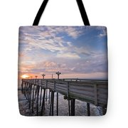 Obx Sunrise Tote Bag by Adam Romanowicz