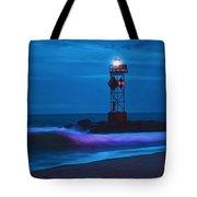 Ocean City Dawn Surf Painted Tote Bag