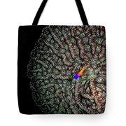Ocean Art Cactus Coral Tote Bag