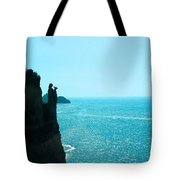 Ocean At Amalfi Tote Bag