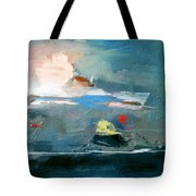 Ocean At Best Tote Bag by John Jr Gholson