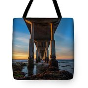 Ocean Beach Pier Tote Bag