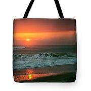 Ocean Beach Sunrise Tote Bag
