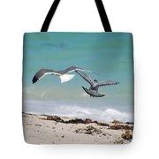 Ocean Birds Tote Bag