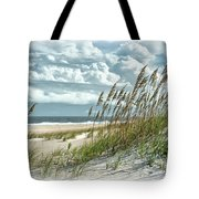 Ocean Breeze At Fort Fisher - Number One Tote Bag