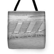 Ocean Chairs Tote Bag