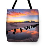 Ocean City Afterglow Tote Bag