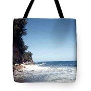 Ocean Cliffside Tote Bag