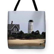 Ocean Cottage Tote Bag