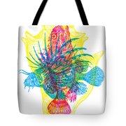 Ocean Creatures Tote Bag