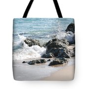 Ocean Drive Rocks Tote Bag