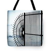 Ocean Fence Tote Bag