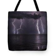 Ocean Fireworks Tote Bag