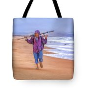 Ocean Fisherman Tote Bag