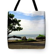 Ocean Formed Tree Tote Bag