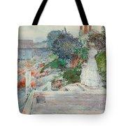 Ocean Front, Gloucester, Massachusetts Tote Bag