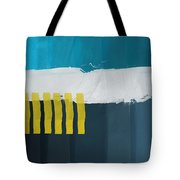 Ocean Front Walk 2- Art By Linda Woods Tote Bag