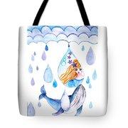 Ocean Girl Tote Bag