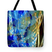 Ocean Girl With Golden Wheats Tote Bag by Navo Art