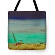 Ocean Glass Tote Bag