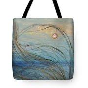 Ocean Grasses In The Wind Tote Bag