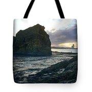 Ocean Headland Panorama Tote Bag