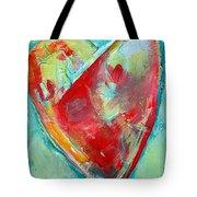 Ocean Heart Tote Bag