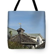 Ocean Isle Fish Weathervane Tote Bag