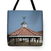 Ocean Isle Pelican Weathervane Tote Bag