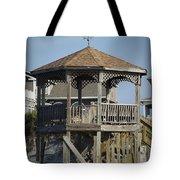 Ocean Isle Pig Weathervane Tote Bag