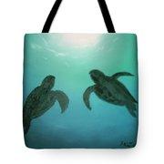 Ocean Light Tote Bag