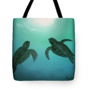 Ocean Light Tote Bag