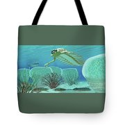 Ocean Opabinia Tote Bag