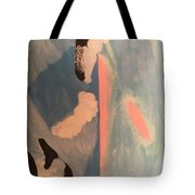 Ocean Painting Tote Bag