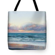 Ocean Painting - Days End Tote Bag