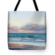 Ocean Painting - Days End Tote Bag