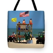 Ocean Rescue  Tote Bag