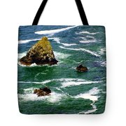 Ocean Rock Tote Bag