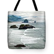 Ocean Rocks Off The Oregon Coast Tote Bag