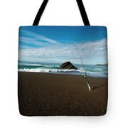 Ocean Side Lunch - San Francisco Bay Tote Bag