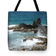 Ocean Spray Mid-air Tote Bag
