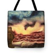 Ocean Storm Tote Bag
